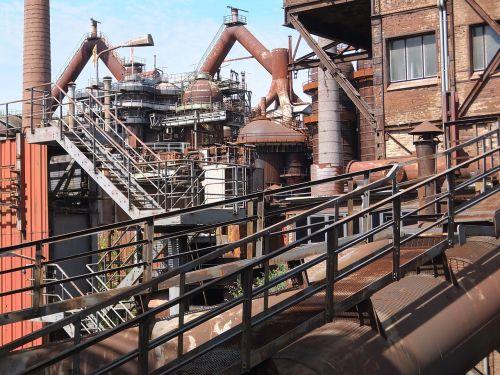 industrial monument ironworks völklingen
