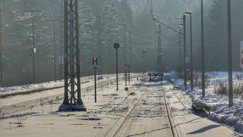 industrial railway railway gleise