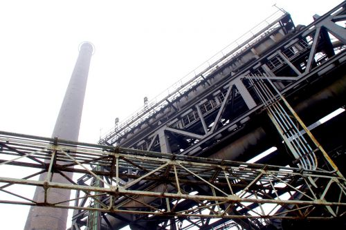 industry chimney industrial plant