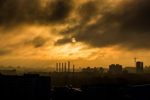 industry industrial smoke