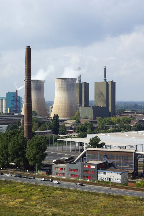 industry ruhr area cooling towers