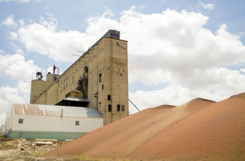 industry silo grain