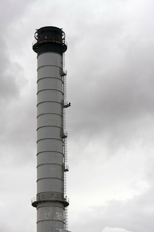 industry industrial chimney flue