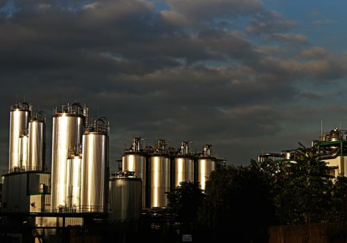 industry tanks silos