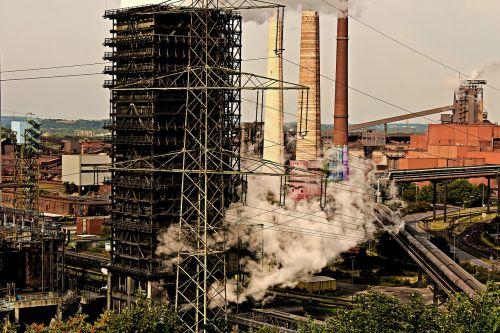 industry smoke steam