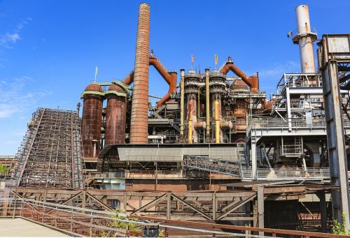 industry blast furnaces steel production