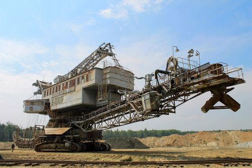 industry machine excavator