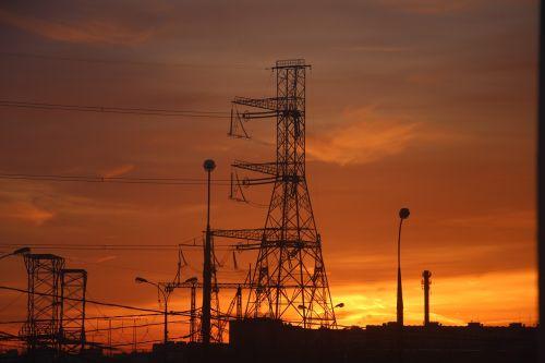 industry energy sky