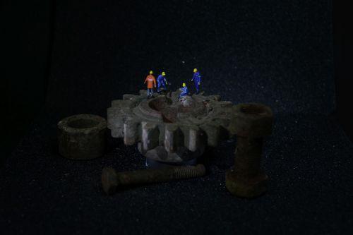 industry mechanics miniature figures