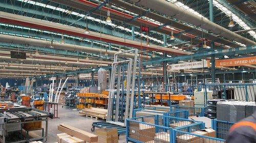 industry  warehouse  steel