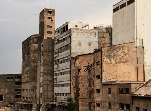 industry  ruins  devastation