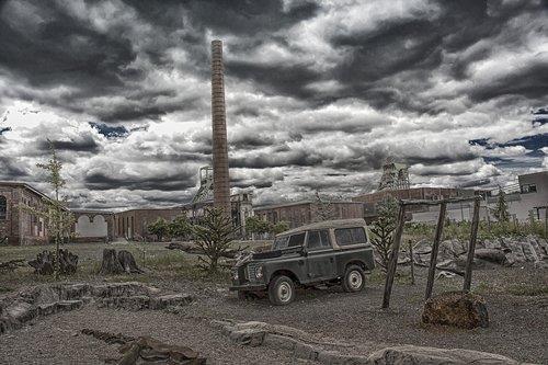 industry  desert  gloomy