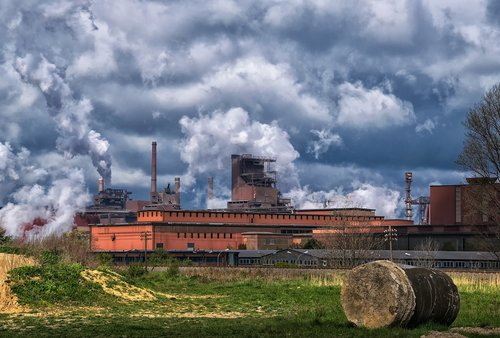 industry  steel mill  factory