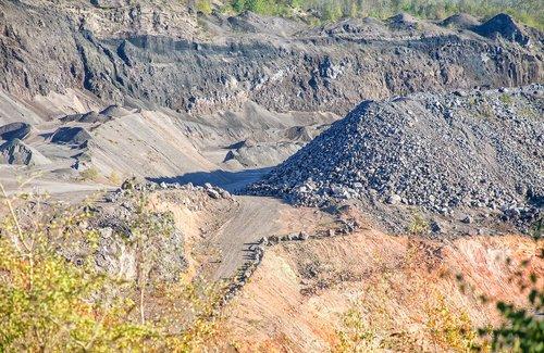 industry  lava  mining
