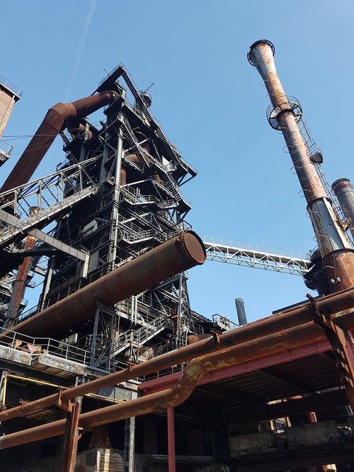 industry  industrial park  industrial ruin