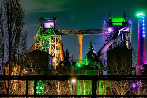 industry  duisburg  landscape park