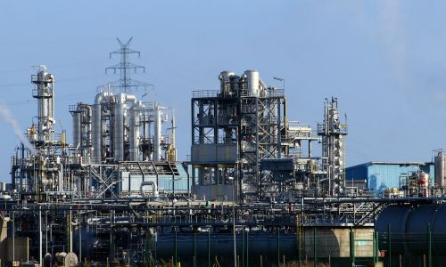 industry industrial plant petrochemical industry