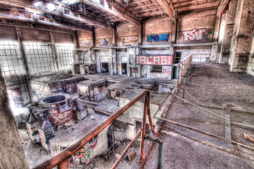 industry decay factory