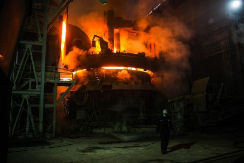 industry steel iron