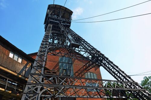industry the jindřich mining tower mining of coal
