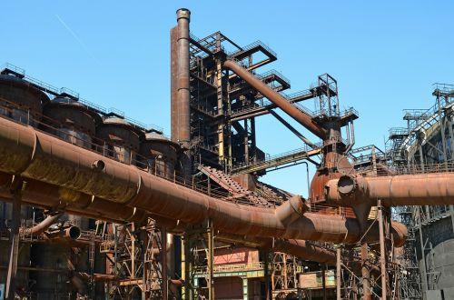 industry vysoká pec ostrava