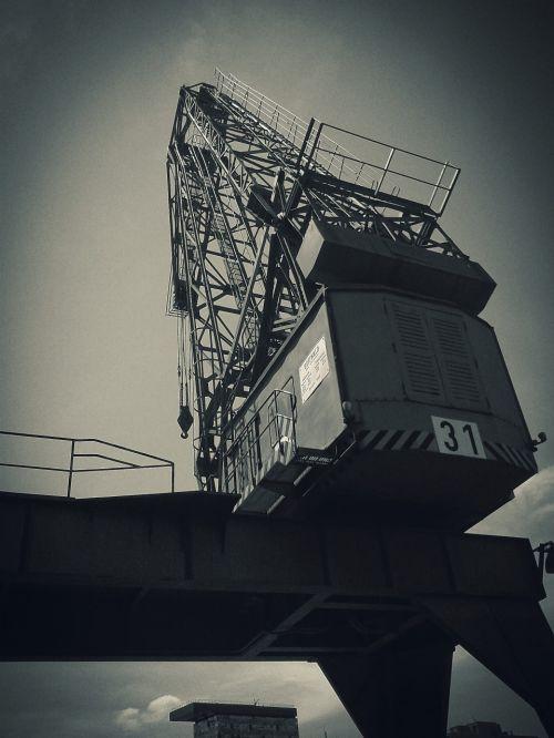 industry crane harbour crane