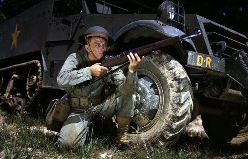 infantry soldier world war ii