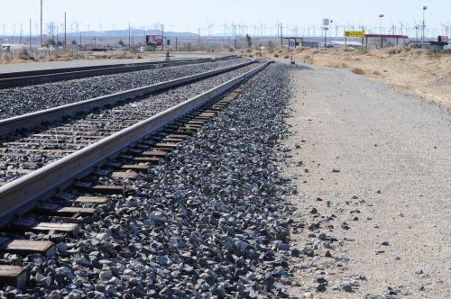 Infinity Railroad Tracks
