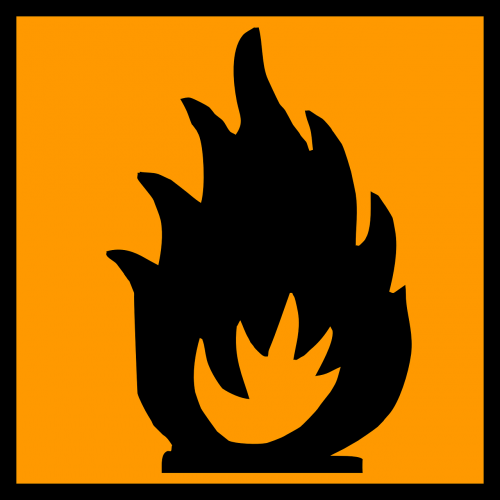 inflammable flammable fire