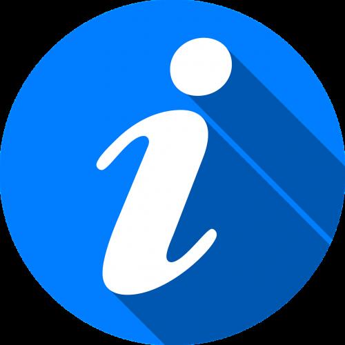 info icon button