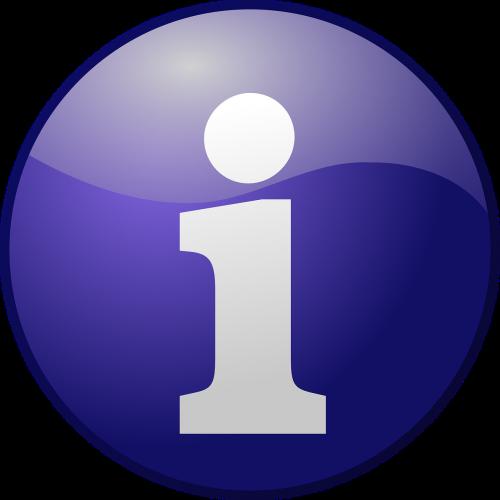 info information sign