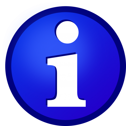 info icon information
