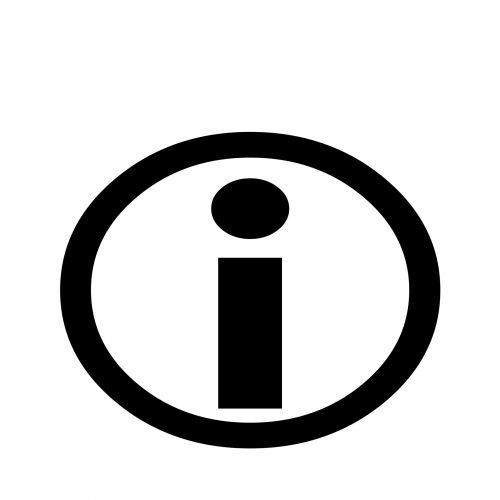 Info Round Symbol