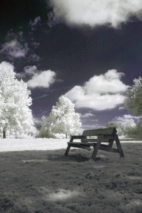 infrared nature landscape