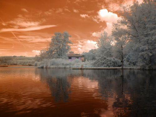 infrared fantasia landscape
