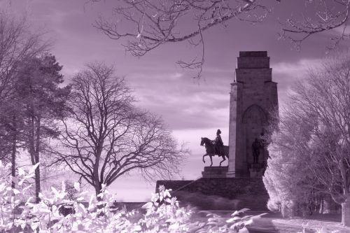 infrared filter monument hohensyburg