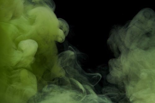 ink  water  green