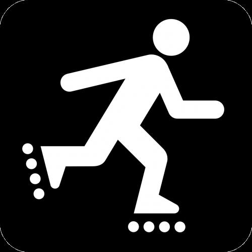 inline skating skating roller-skating