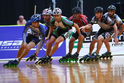 inline speed skating roller speed skating fitness