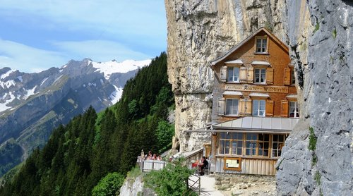 inn liming  wildkirchli  alpstein