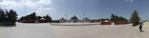 inner mongolia genghis khan mausoleum