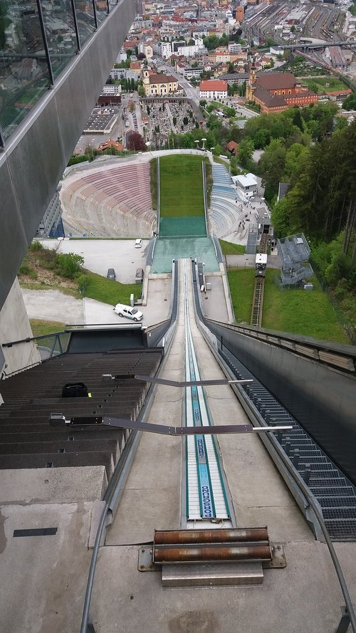 innsbruck  ski jump  olympics