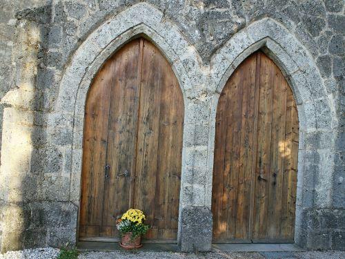 input door double door