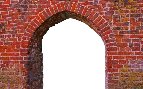 input pointed arch old