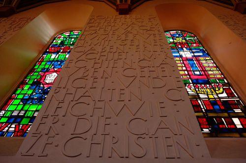 inscription church religion