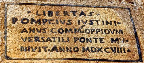 inscription roman ancient