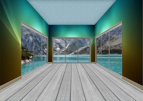 inside  inside room  room