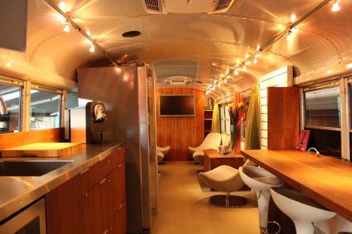 inside bus facility bus modern bus