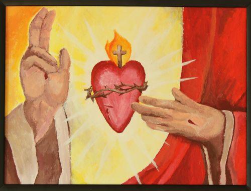 inspiration jesus sacred heart