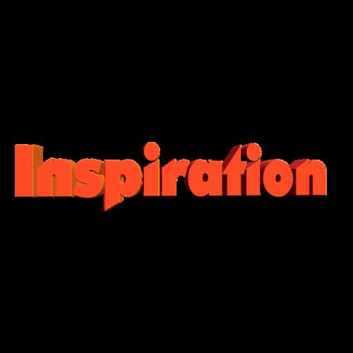 inspiration font flash of genius